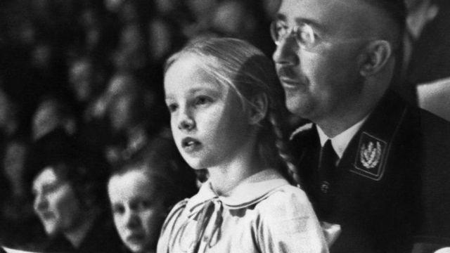 Гиммлер с дочерью