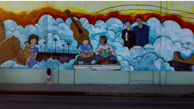 Mural en Los Ángeles, California