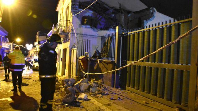 Terremoto en Catania