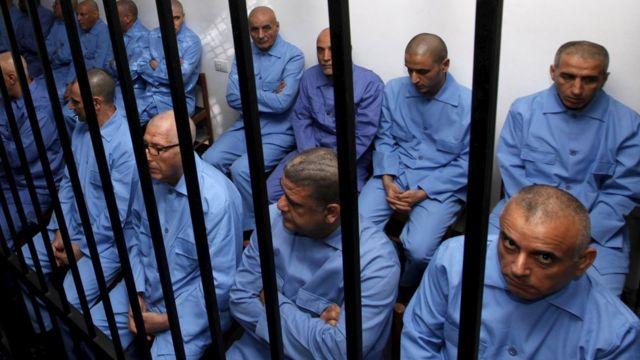 محاكمة متهمين ليبيين قبل عامين