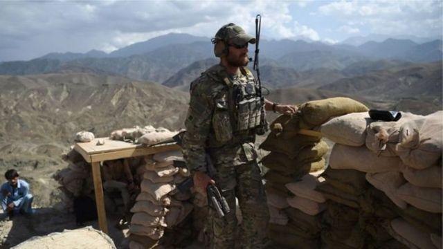 Американский контингент находится в Афганистане с 2001 года