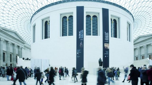 The Queen Elizabeth II Great Court of the British Museum