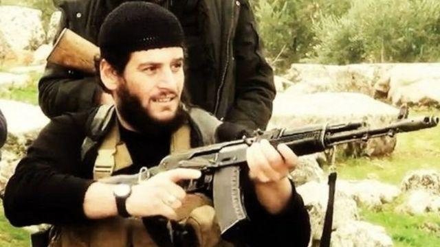 Abou Mohammed Al-Adnani, porte-parole de l'Etat islamique et responsable des attentats à l'étranger, est mort, selon le groupe Etat islamique.