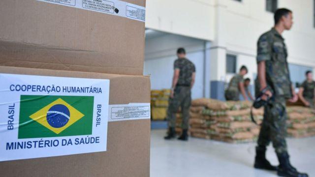 Brezilya yardımlar