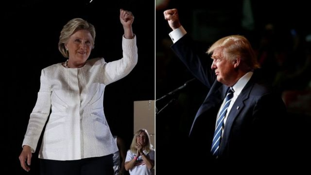 كلينتون وترامب يكثفان حملتهما الانتخابية قبل أيام قليلة من بدء الانتخابات الرئاسية الأمريكية.