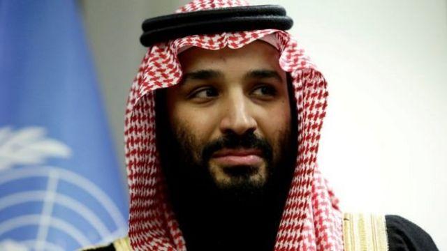 Наследный принц Мухаммад бин Салман