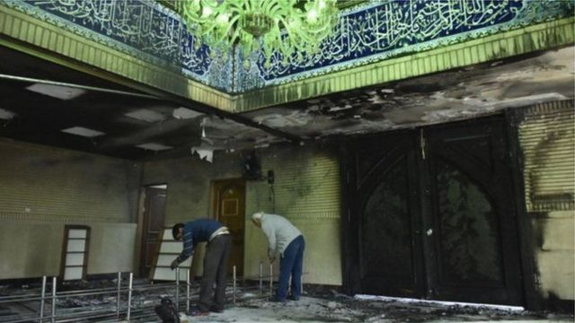 حمله به مسجد جوادالائمه تهران در مهر ماه