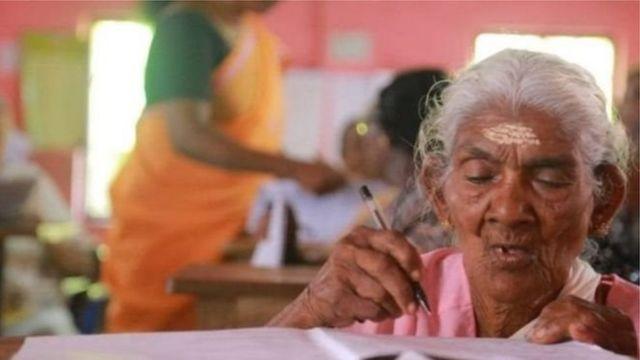 کیریلا سے تعلق رکھنے والی دادی کارتییانی