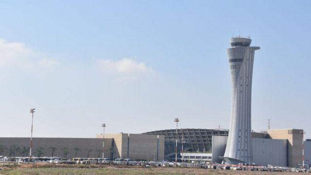 Aeroporto Ben Gurion, em Israel