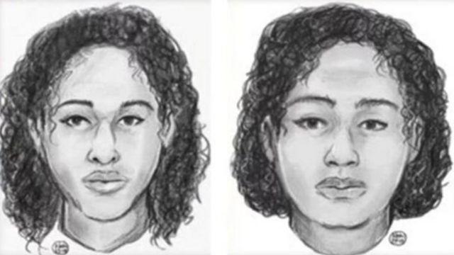 الشرطة نشرت صورتين للفتاتين الأسبوع الماضي في محاولة لتحديد هويتهما