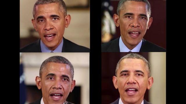 """""""Falso"""" Barack Obama"""