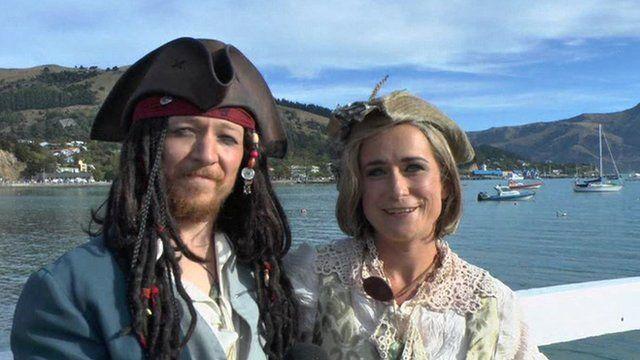 Toby Ricketts and Marianna Fenn