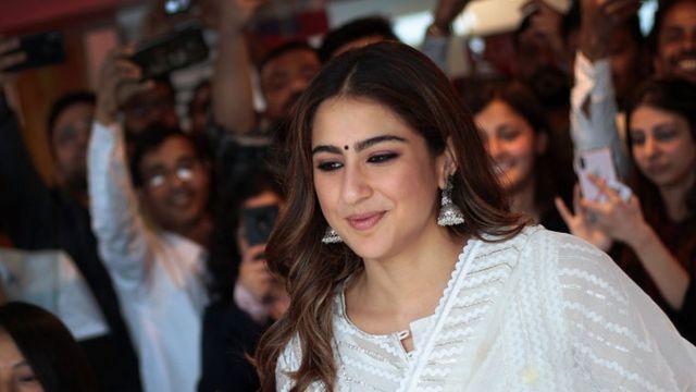 الممثلة ساره علي خان