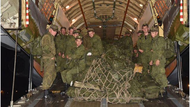 آئی ایس پی آر کے مطابق روس فوج کا دستہ پاکستان اور روس کی مشترکہ فوجی مشقوں کے پاکستان پہنچا