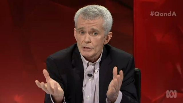 Professor Brian Cox clashes with Australian climate sceptic