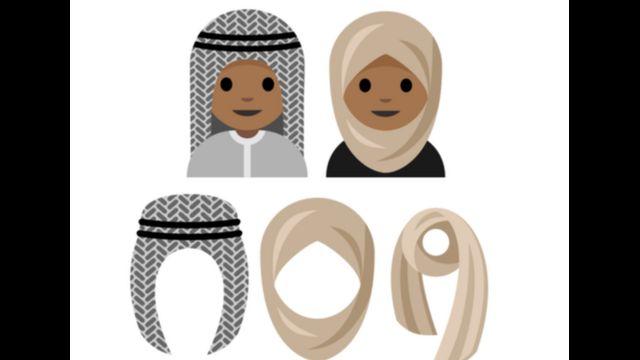 जर्मनी में रहने वाली 15 साल की सऊदी लड़की ने नक़ाब वाली इमोजी बनाकर मंज़ूरी के लिए यूनीकोड कंसोर्टियम को भेजा है