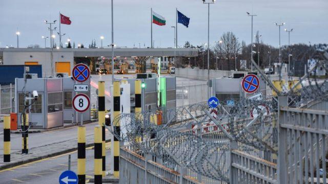 Граница между Болгарией и Турцией