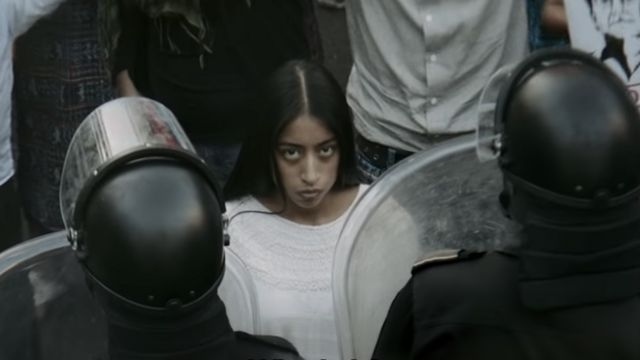 """María Mercedes Coroy en """"La Llorona"""""""