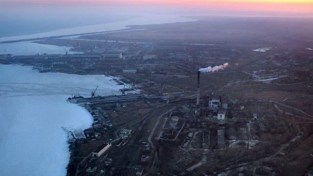 Керченська протока взимку 2008 року