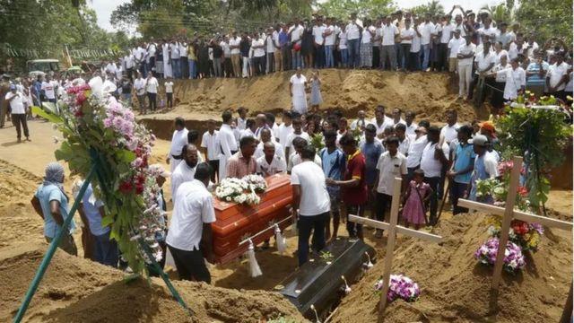 Sri Lanka'daki cenaze törenleri