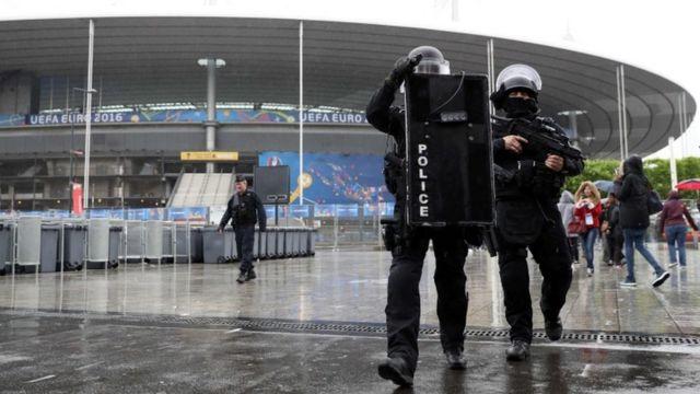 昨年11月の事件でも標的となった「スタッド・ド・フランス」は欧州選手権の試合会場のひとつ