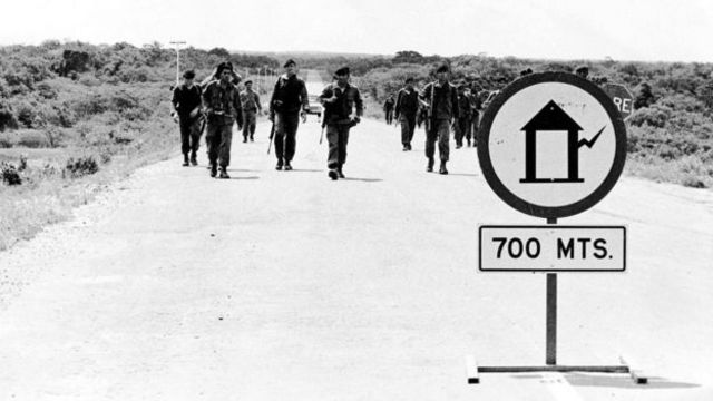 Soldados em Machurucuto