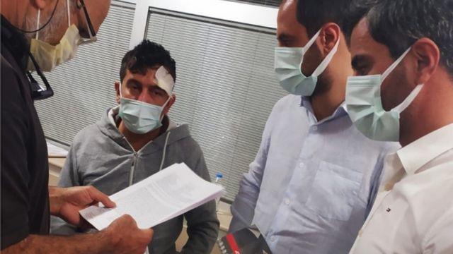 Musthtaq Mahmood Kareem, Mersin yakınlarında saldırıya uğradı.