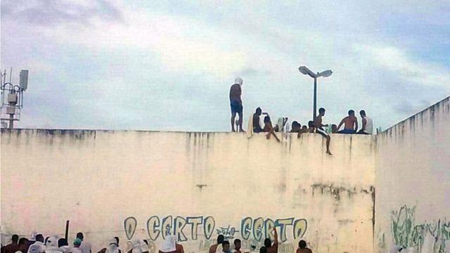 Penitenciária de Alcaçuz, no Rio Grande do Norte