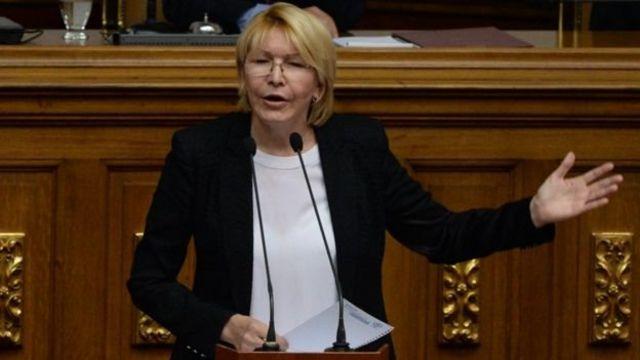La Fiscal General Luisa Ortega Díaz