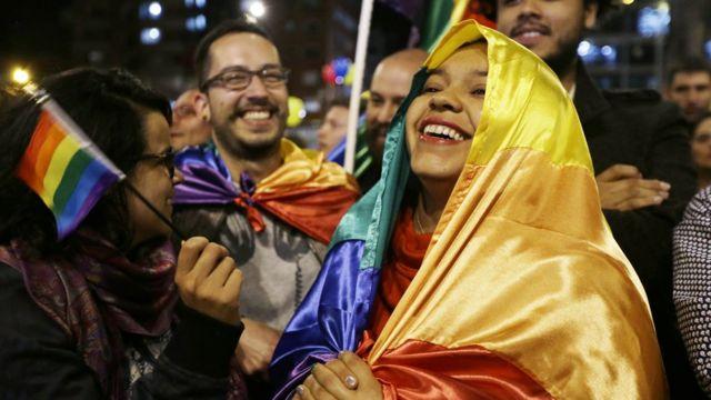 Celebración en Bogotá