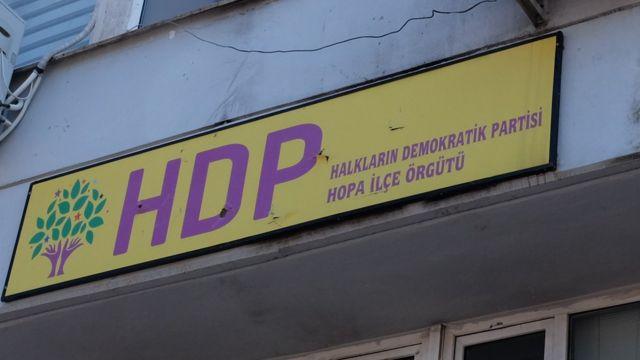 HDP tabelasında kurşun izleri duruyor