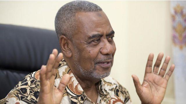 Katibu mkuu wa chama cha (CUF) Maalim Seif Sharif Hamad
