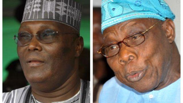 Atiku ati Obasanjo