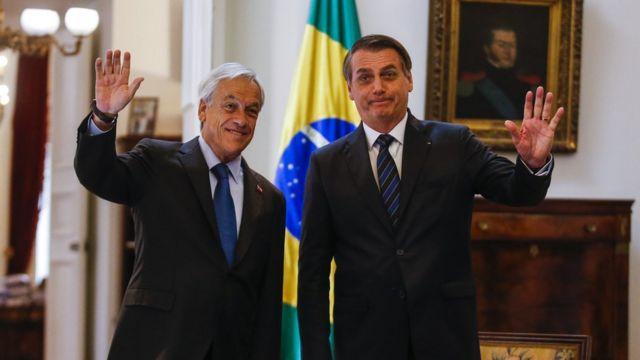 Piñera e Bolsonaro