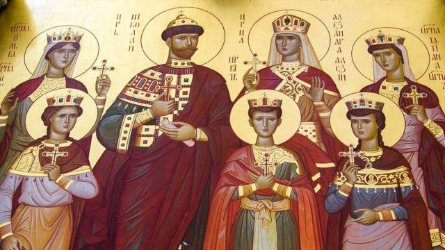 พระเจ้าซาร์ นิโคลัสที่ 2 ทรงได้รับการแต่งตั้งให้เป็นนักบุญในศาสนาคริสต์นิกายออร์โธด็อกซ์