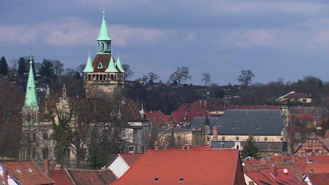 Quedlinburg in Saxony-Anhalt