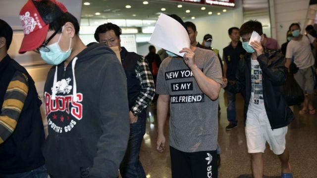 China criticises Taiwan over telephone fraud case
