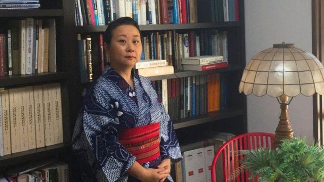 Mihoko Oka, professora da Universidade de Tóquio e especialista em história do Japão nos séculos 16 e 17
