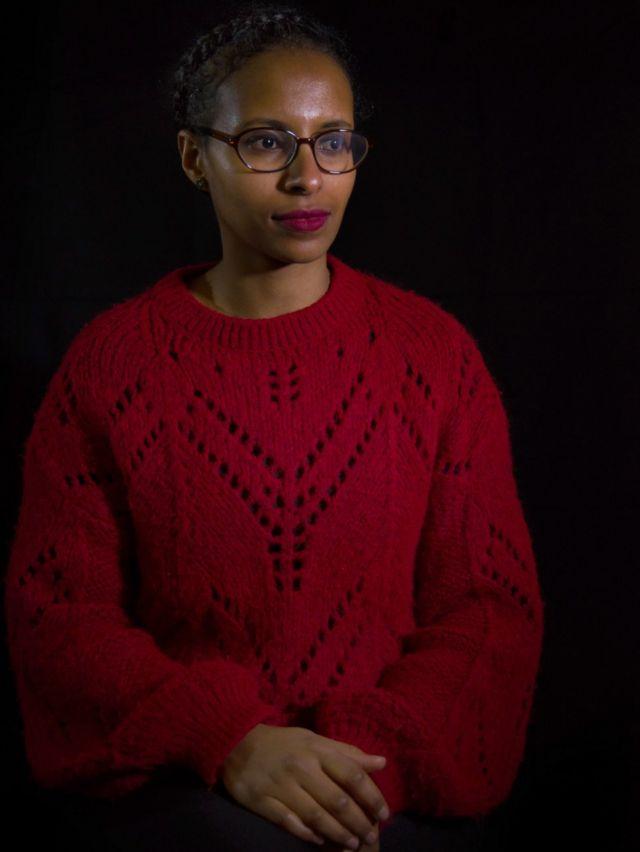 Marchu Girma, da organização Mulheres para Mulheres Refugiadas.