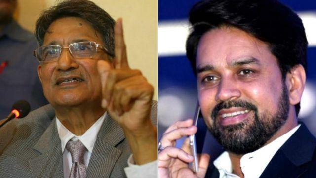 अनुराग ठाकुर और आर एम लोढा