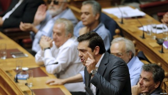 Greece debt crisis: Eurozone deal laws backed by MPs