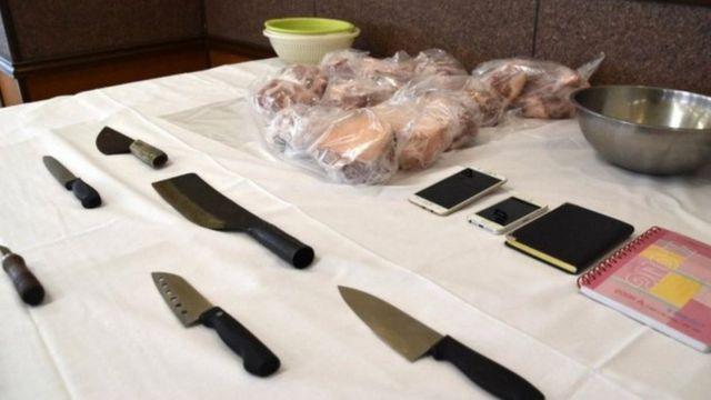 """Vụ bắt nghi phạm ngày 28/10 thu được điện thoại có hình ảnh giết mổ và tin nhắn """"giao bán thịt"""""""
