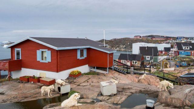 городок в Гренландии