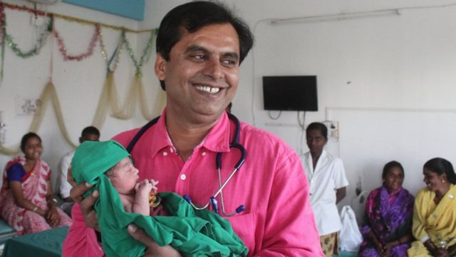 Ganesh Rakh: The doctor who delivers India's girls for free
