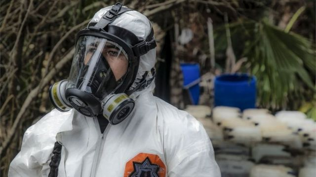 Mexico dismantles three synthetic drug labs in Sinaloa