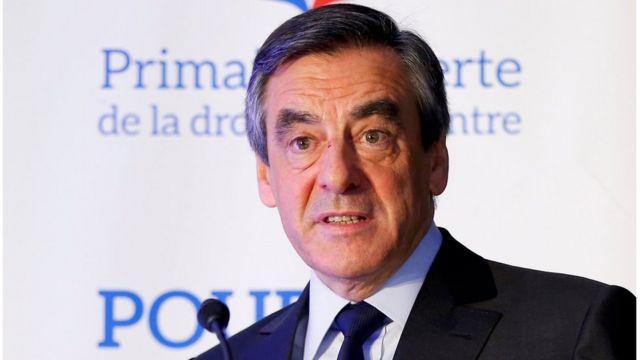مرشح يمين الوسط الفرنسي فرانسوا فيون