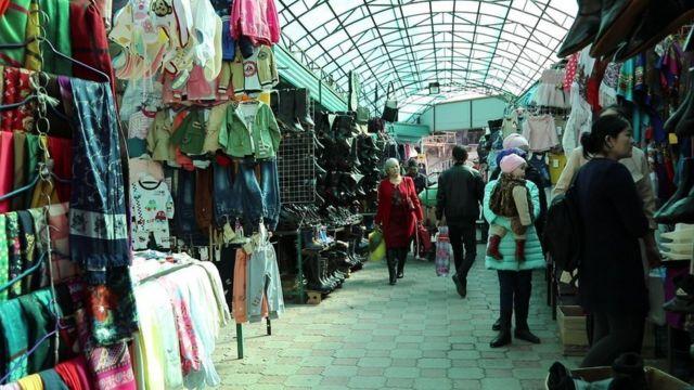 Бишкек базарларынын бири