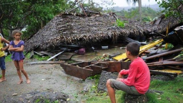 हेती और क्यूबा में नुकसान पहुंचाकर आगे बढ़ा 'मैथ्यू'