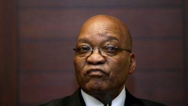 Jacob Zuma est très affaibli par les accusations de corruption et les appels à la démission.