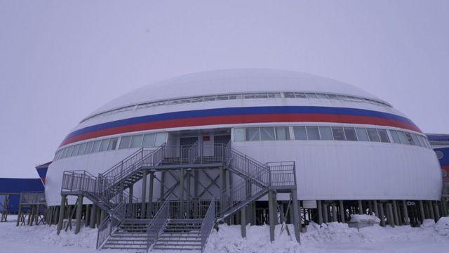 Rusya'nın Arktik üssü